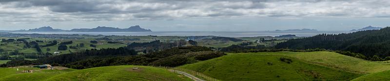 Blick Richtung Whangarei Heads