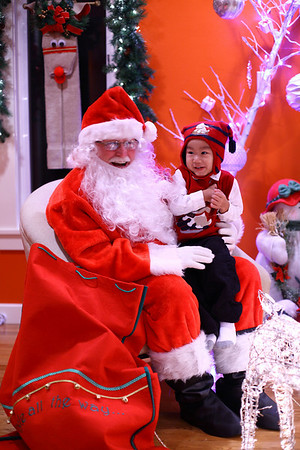 Photo With Santa-Friends 2010