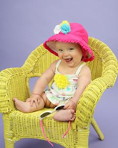 Abby 6 Month Peeks