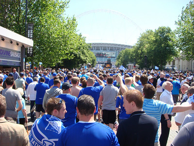Wembley May 2009, Everton v Chelsea