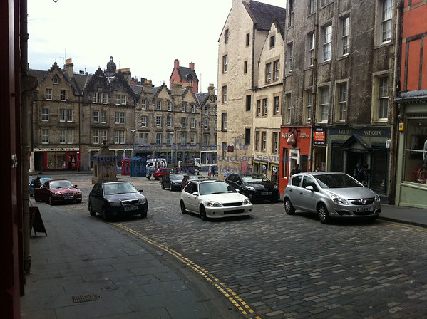Edinburgh Cobbled Streets