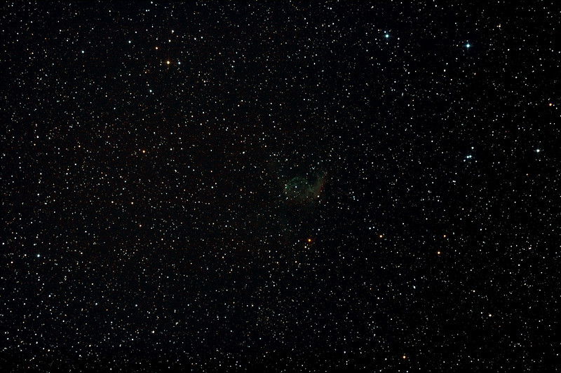 NGC2359 - Gum 4 - Thor's Helmet in Canis Major - 9/11/2012 (Processed stack)