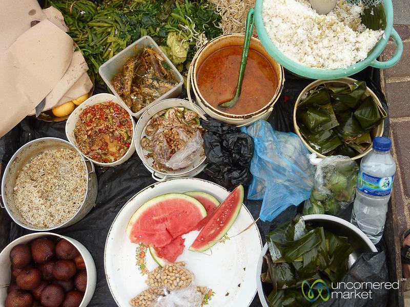 Nasi Campur Street Food - Sanur, Bali