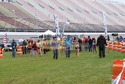 Post Race, D1 Girls - 2013 MHSAA LP XC Finals