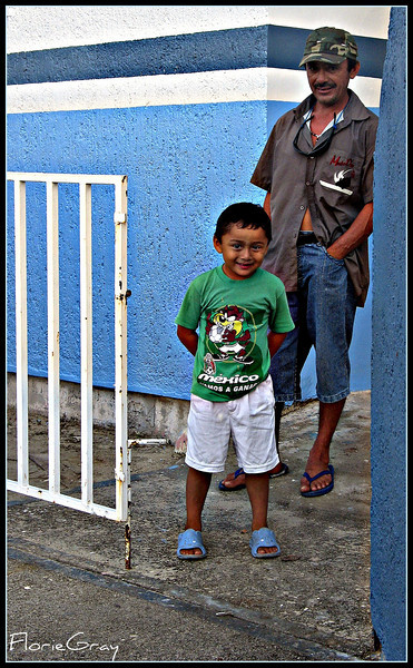 Father and Son  Isla Mujeres, Mexico