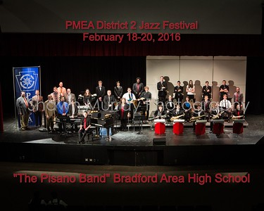 PMEA District 2 Jazz Festival 2016