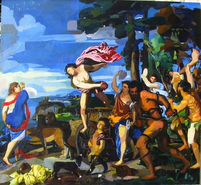 Chris Fletcher after Titian