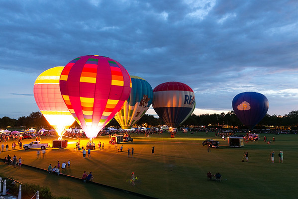 The Villages Balloon Glow - June 2018