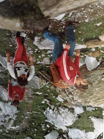 Sortie montagne 1981