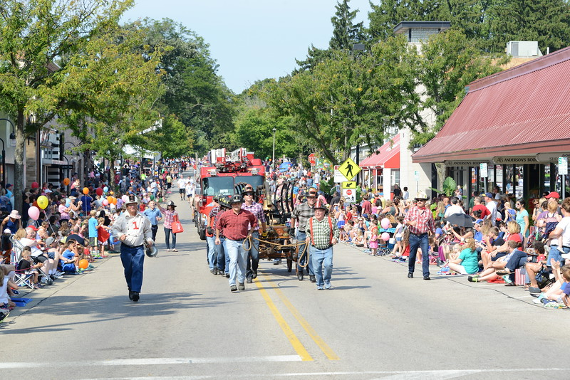 The Last Fling - 2016 - Labor Day Parade - Naperville, Illinois
