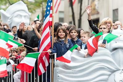 The 2014 NYC Columbus Day Parade