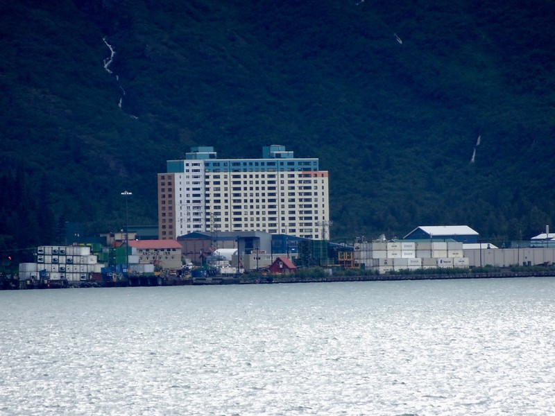 WHITTIER, AK - EVERYONE LIVES IN THAT BUILDING