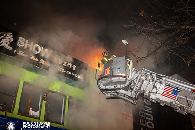 4 Alarm Commercial Building Fire - 136-11 38th Ave, Queens, NY - 11/3/20