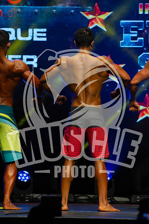 Pro Qualifier - Mens Physique Over 173, Up to, And inclusive 180