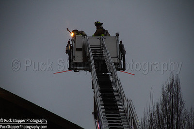 2 Alarm Building Fire - 1620 Newfield Ave, Stamford, CT - 4/6/17