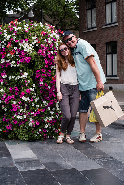 Day 7 - Thea & Jean Pierre in Roermond, July 10th