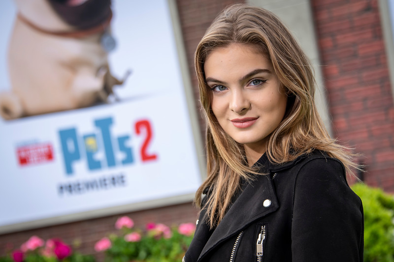 WESTWOOD, CALIFORNIA - JUNE 02: Brighton Sharbino attends the Premiere of Universal Pictures' 'The Secret Life Of Pets 2' at Regency Village Theatre on Sunday, June 02, 2019 in Westwood, California. (Photo by Tom Sorensen/Moovieboy Pictures)