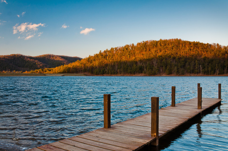 Dock at Lake Arrowhead, Luray, Virginia