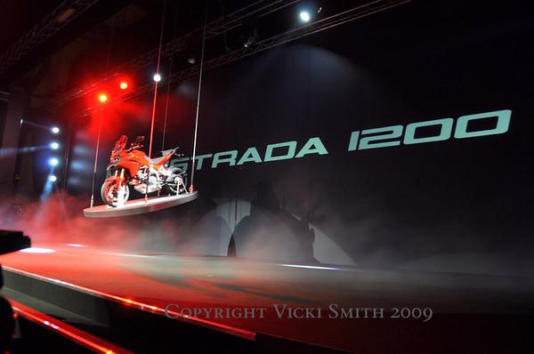 EICMA 2009, Milan Motorcycle Show Ducati Press Showing