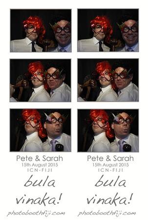 Sarah & Pete