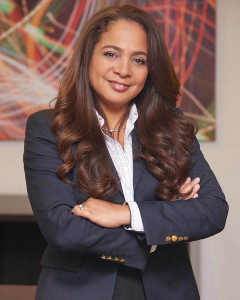 Washington DC Business Portrait for ZemiTec CEO Rosa Caldas for MEA Magazine