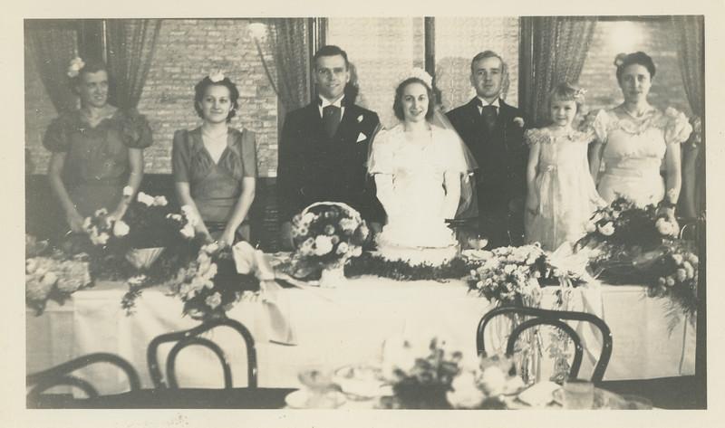 Frank and Bessie Wilcox Wedding 9