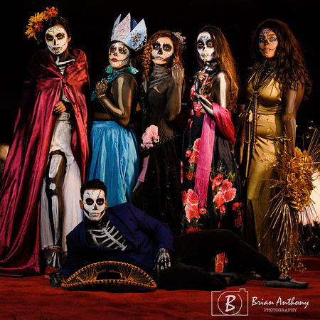 2019-11-03 Red Barn Day Of The Dead Photo Session