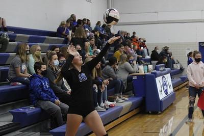 North Iowa Middle School volleyball