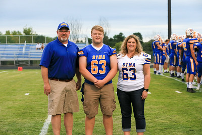 Senior night- athlete/parent photos