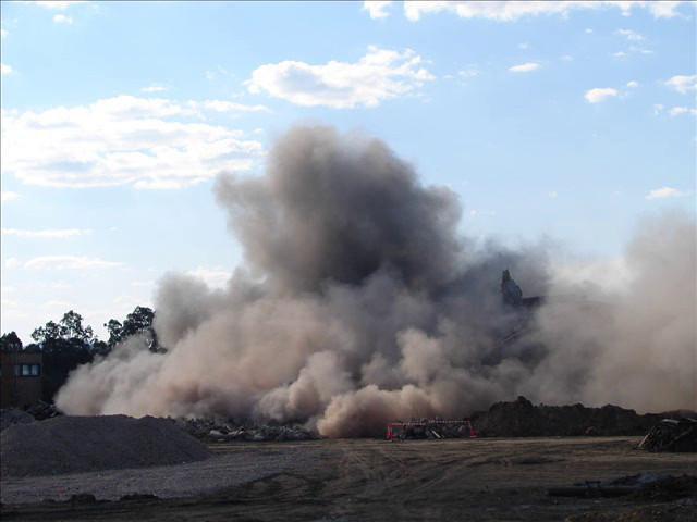 Tennyson Power Station Coal Hopper 3 Removal