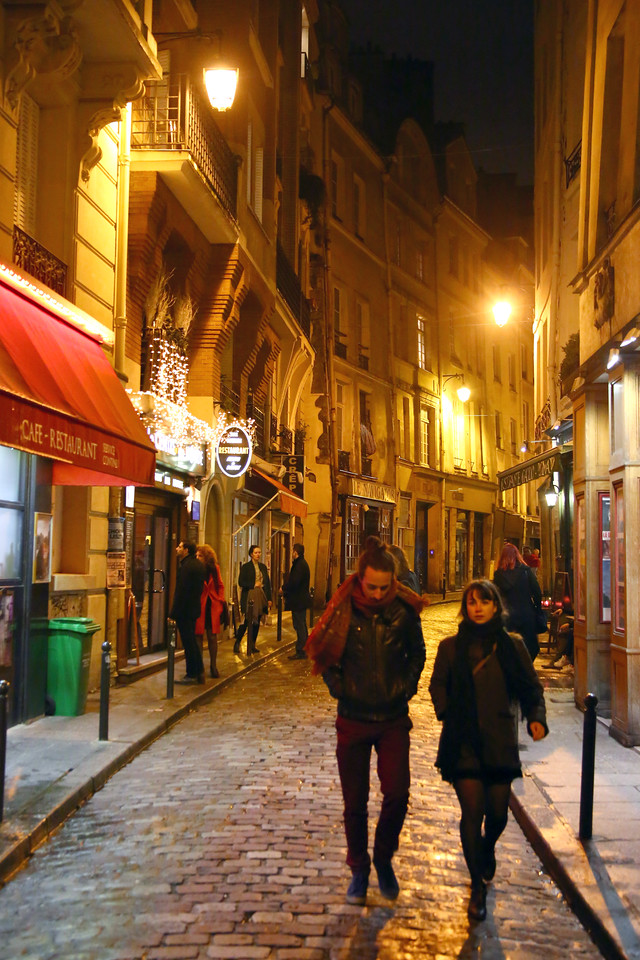 Paris by night - Latin Quarter