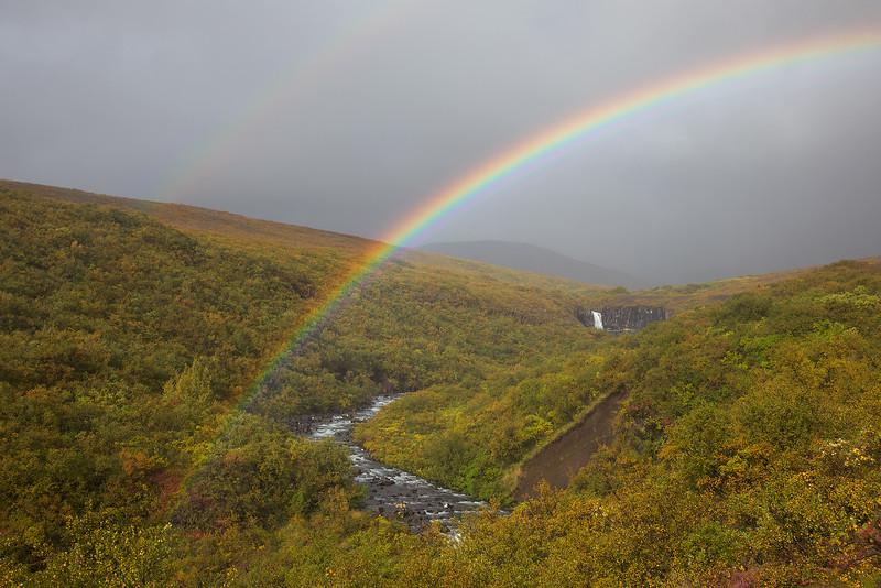 Skaftafell Rainbow