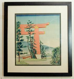 Three Asian artworks