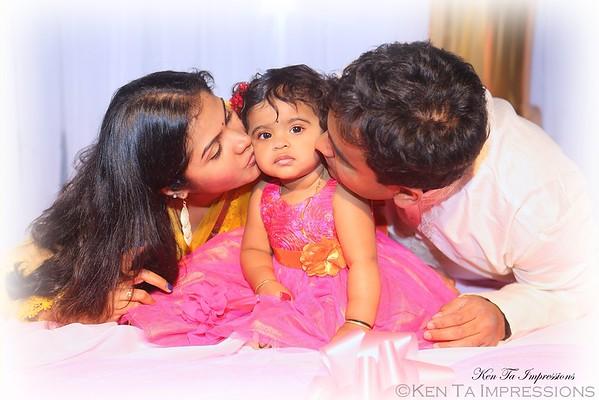 Sahana's 1st Birthday Celebration