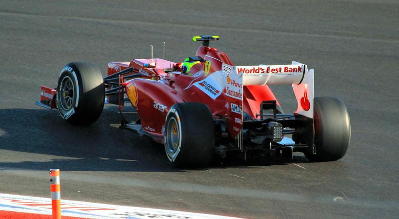 Ferrari's Felipe Massa.