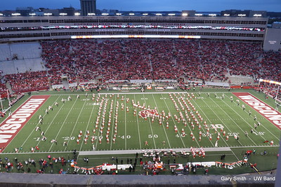 Cornhusker Band @ Camp Randall  10-6-18