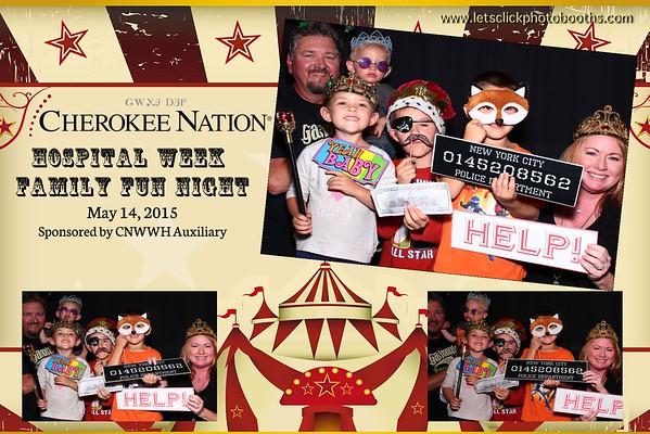 Cherokee Nation Hospital Week Family Fun Night
