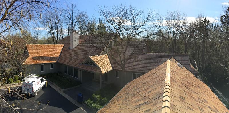 Cedar Shake Roof - Highland Park IL