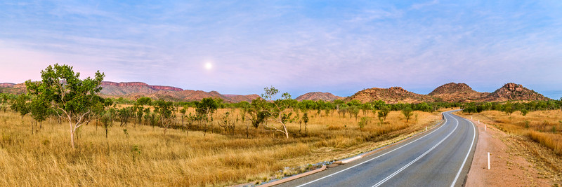 Dusk in Northern Australia