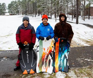 Snow In Augusta