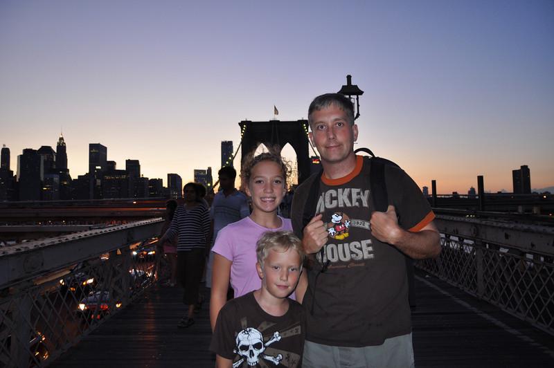 Brooklyn Bridge at Sunset, finally!