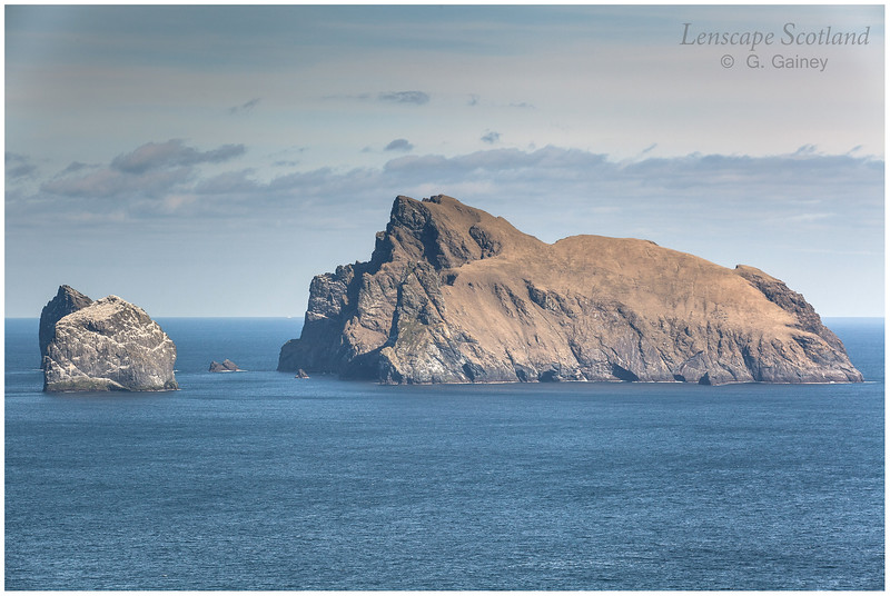 Stac an Armin, Stac Lee and Boreray from The Gap on Hirta (1)
