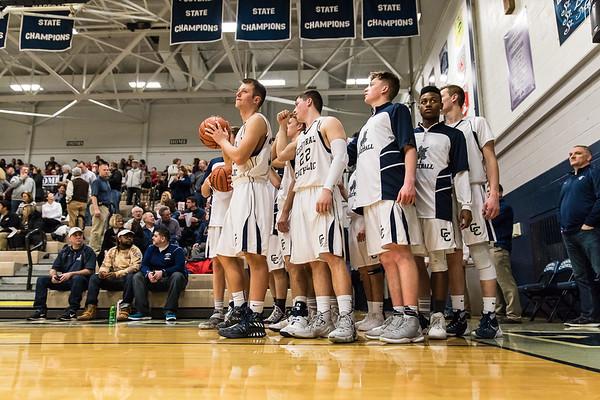 CC Varsity Boys Basketball vs West Lafayette 2017-2-10