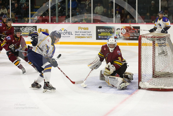 September 12th 2015, Timmins Vs Miners in Timmins.