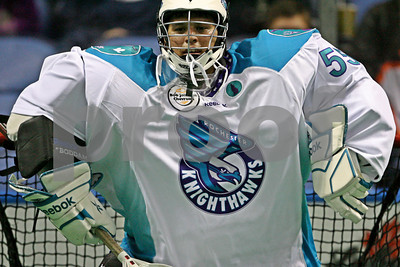 2/9/2013 - Rochester Knighthawks vs. Buffalo Bandits - First Niagara Center, Buffalo, NY