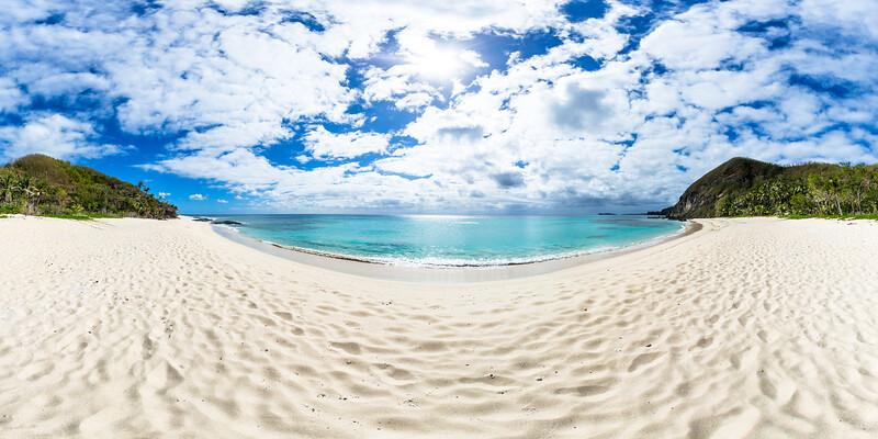 Honeymoon Beach at Yasawa Island Resort & Spa