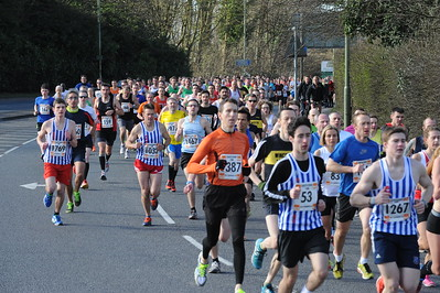 Eastleigh 10k - Going Out