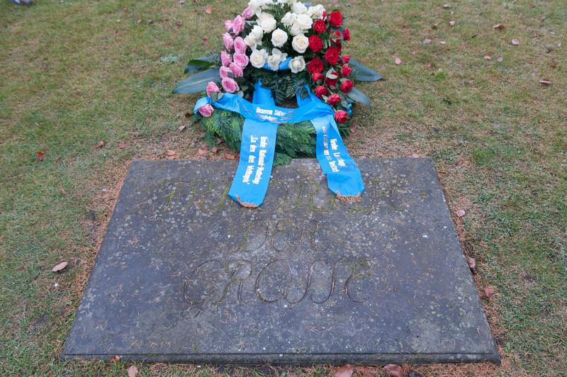 Friedrich the Great grave in Sanssouci Park, Potsdam, Germany