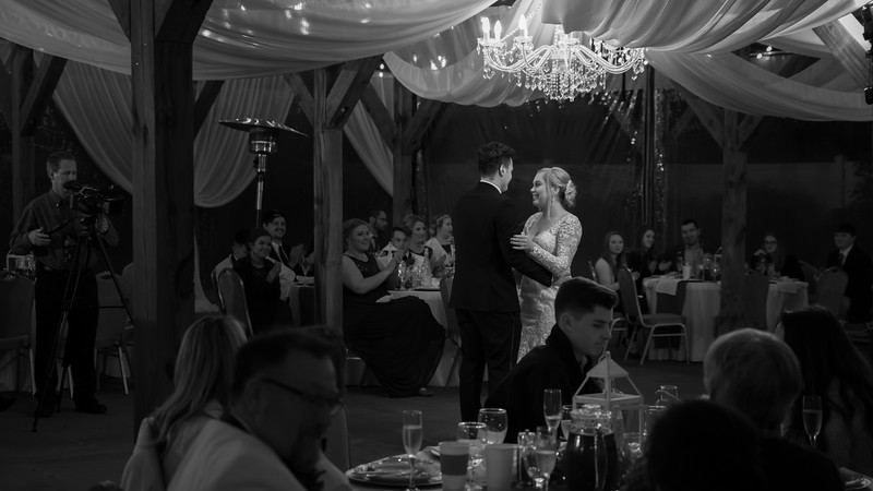 The Receptions (selected b&w)