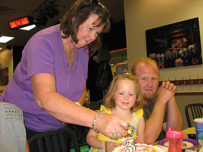 Lenah's 3rd Birthday Chucky Cheese